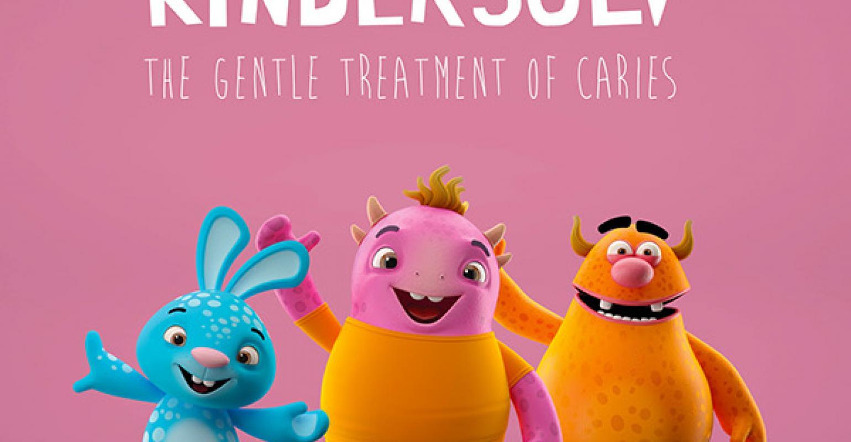 Vaikų dantų gydymas be gręžimo